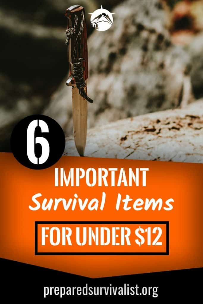 6 important survival items for under $12
