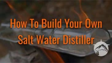 How To Build Your Own Salt Water Distiller