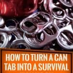 How To Turn A Can Tab Into A Survival Fish Hook