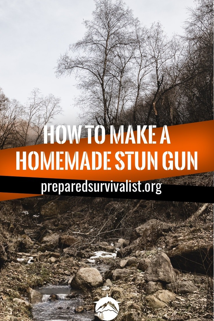 How To Make A Homemade Stun Gun Prepared Survivalist Circuit Diagram Together With Circuits Schematics