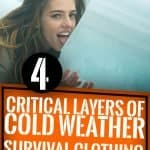 4 Critical Layers of Cold Weather Survival Clothing