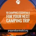 16 Camping Essentials For Your Next Camping Trip Social