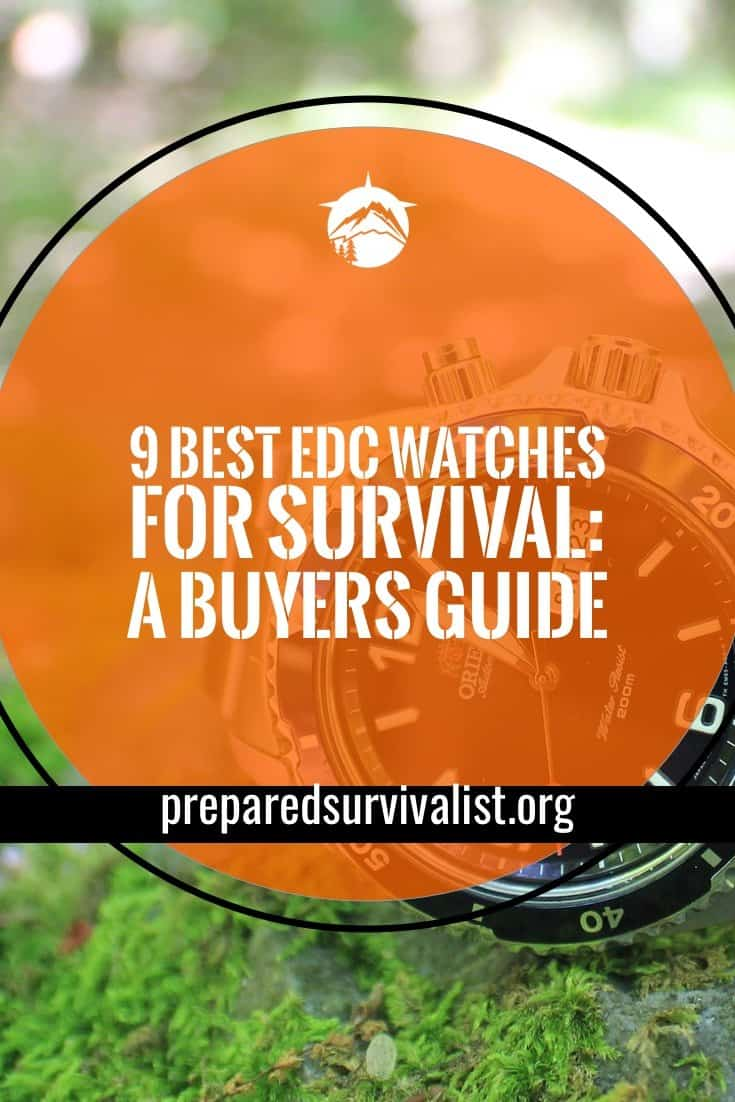 9 Best EDC Watches For Survival