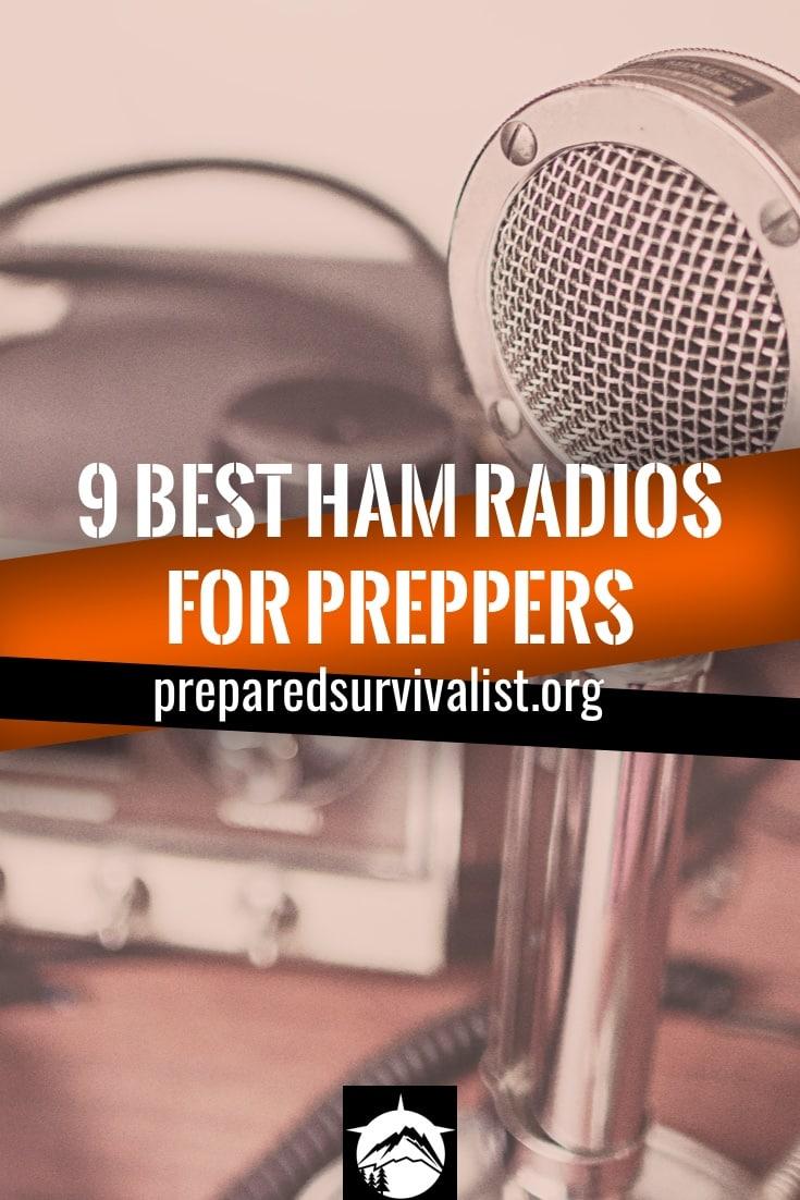 9 Best HAM Radios For Preppers